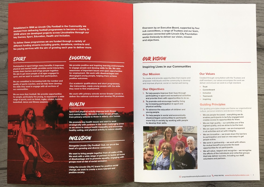 Lincoln City Foundation Strategy Document